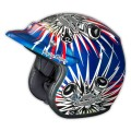 Casque TROY LEE DESIGNS - Open Face - PISTON Blue 2014