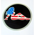 Sticker NO FEAR - Girl USA