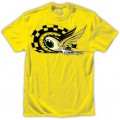 Tee shirt TROY LEE DESIGNS (ENFANT) - Baja Eyeball Yellow 2014