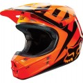 Casque FOX RACING V1 RACE Orange 2015