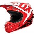 Casque FOX RACING V1 RACE Red 2015