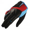 Gants 100 % Simi Red / Cyan