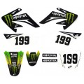 Kit déco MONSTER - CRF 70