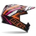 Casque BELL MX-9 Tagger Scrub Pink