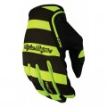 Gants TROY LEE DESIGNS - XC Caution Jaune Fluo 2016