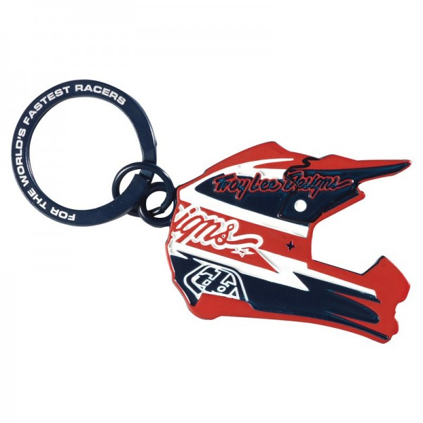 Porte clef troy lee designs helmet multicolor crf50shop Porte clef yamaha