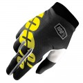 Gants 100% ITrack Black / Yellow