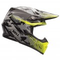 Casque BELL MOTO-9 Yellow Camo