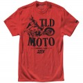 Tee shirt TROY LEE DESIGNS Moto Rouge