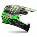 Casque BELL MX-9 MONSTER / PRO CIRCUIT Replica Green Camo