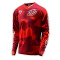 Maillot TROY LEE DESIGNS - SE Cosmic Camo Rouge 2016