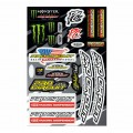 Planche de stickers PRO CIRCUIT Deluxe kit