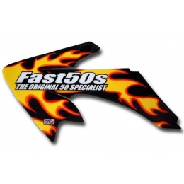 Kit déco FAST50's FLAME CRF 50