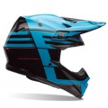 Casque BELL MOTO-9 Carbon Flex Blocked Blue