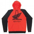 Sweatshirt TROY LEE DESIGNS Honda Wing Rouge / Noir