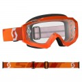Masque SCOTT Hustle MX Orange Fluo (écran Clair)