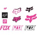 Pack Stickers FOX RACING Track Pack Pink