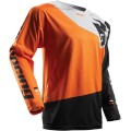 Maillot THOR Fuse Pinin Black / Orange 2017