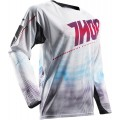 Maillot THOR Fuse Air Lit White / Red 2017