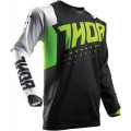 Maillot THOR Pulse Aktiv Lime / Black 2017