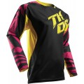 Maillot THOR (ENFANT) Fuse Air Dazz Magenta / Yellow 2017