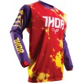 Maillot THOR (ENFANT) Pulse TyDy Purple / Fire 2017