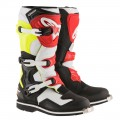 Bottes ALPINESTARS Tech 1 Black / White / Yellow / Red