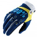 Gants 100 % Airmatic Navy / Yellow