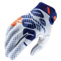 Gants 100 % Ridefit White / Navy