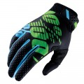 Gants 100 % Ridefit Black / Lime