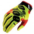 Gants 100 % Ridefit Yellow / Black
