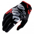 Gants 100 % Ridefit Black / Red