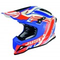Casque JUST1 J12 Flame Rouge / Bleu