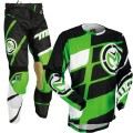 Tenue MOOSE RACING M1 Green / Black 2017