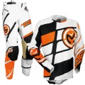 Tenue MOOSE RACING M1 Orange / Black 2017