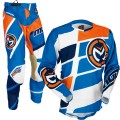 Tenue MOOSE RACING M1 Orange / Blue / Navy 2017