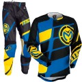 Tenue MOOSE RACING M1 Yellow / Cyan 2017