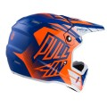 Casque PULL IN Race Bleu / Orange Fluo 2017