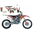 Kit déco complet BLACKBIRD replica Arma Energy Honda CR-F250 (2010/13) / 450 (2009/12)