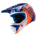 Casque enfant PULL IN Race Bleu / Orange Fluo 2017