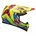 Casque BELL MX-9 MIPS D. Trouble Hi viz Yellow