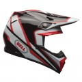 Casque BELL MOTO-9 Spark Red / Black