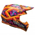 Casque BELL MOTO-9 Tagger Orange