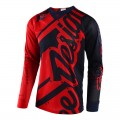 Maillot TROY LEE DESIGNS SE Air Shadow Bleu / Rouge 2018