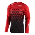 Maillot TROY LEE DESIGNS SE Air Megaburst Rouge / Noir 2018