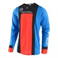 Maillot TROY LEE DESIGNS SE Air Squadra Bleu / Orange 2018
