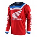 Maillot TROY LEE DESIGNS GP Air Prisma Honda Rouge 2018