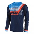 Maillot TROY LEE DESIGNS GP Air Prisma Team Navy 2018