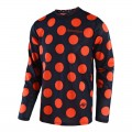 Maillot TROY LEE DESIGNS GP Air Polka Bleu Orange 2018