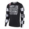 Maillot TROY LEE DESIGNS GP Checker Noir 2018